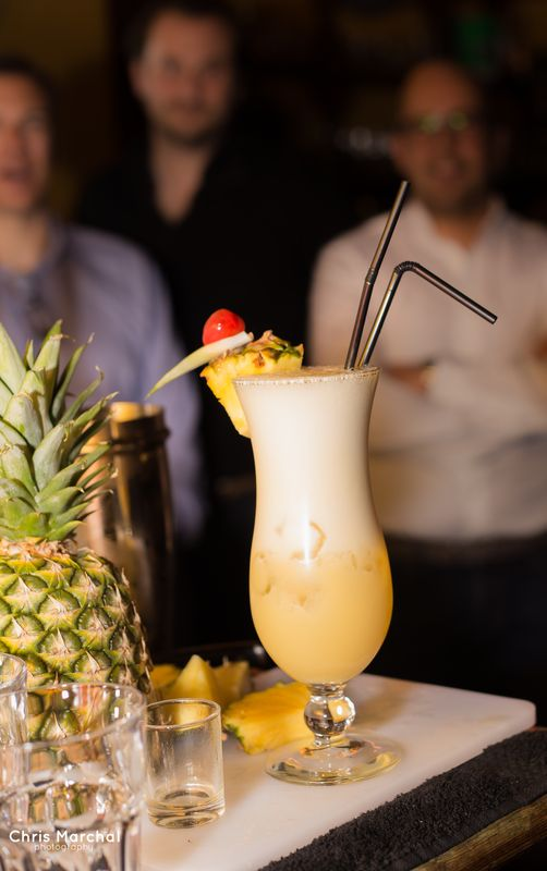 make your own pina colada in brussels